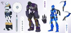 Bionicle G3 Idea - Part 2 by RRproAni