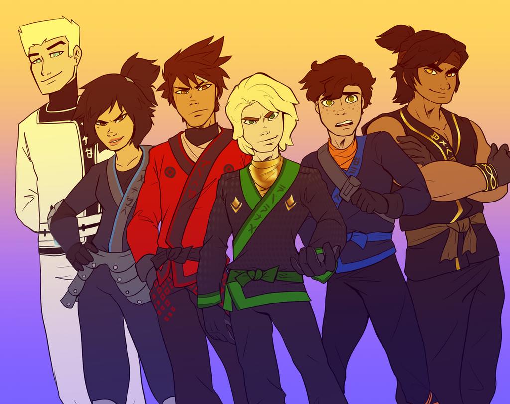 Ninjago favourites by BIazeRod on DeviantArt