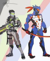 Hero Swap - Soldier76 Genji