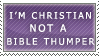 I'm not a Bible Thumper... by Nisshoku-art