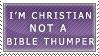 I'm not a Bible Thumper... by Nisshoku-art