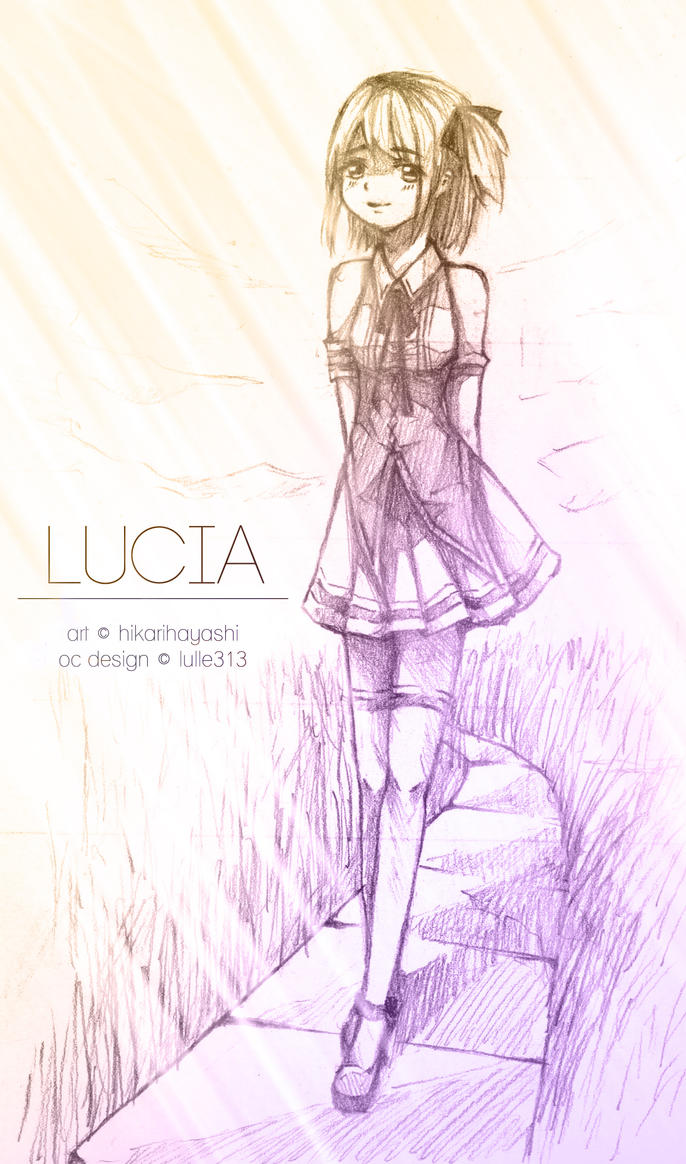 [GIFT] For Lulle313 : Lucia by hiitan