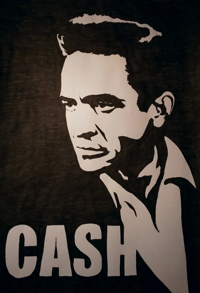 Johnny Cash by Prototype-Venom