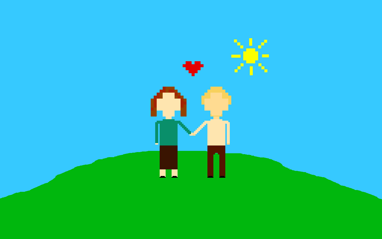 Derek and Melanie by Entaryon