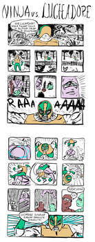 ninja vs. luchadore: kosto by jampura
