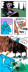 Ninjat vs. Luchadore: Escape by jampura