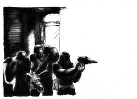 Gomorra soldiers by jampura