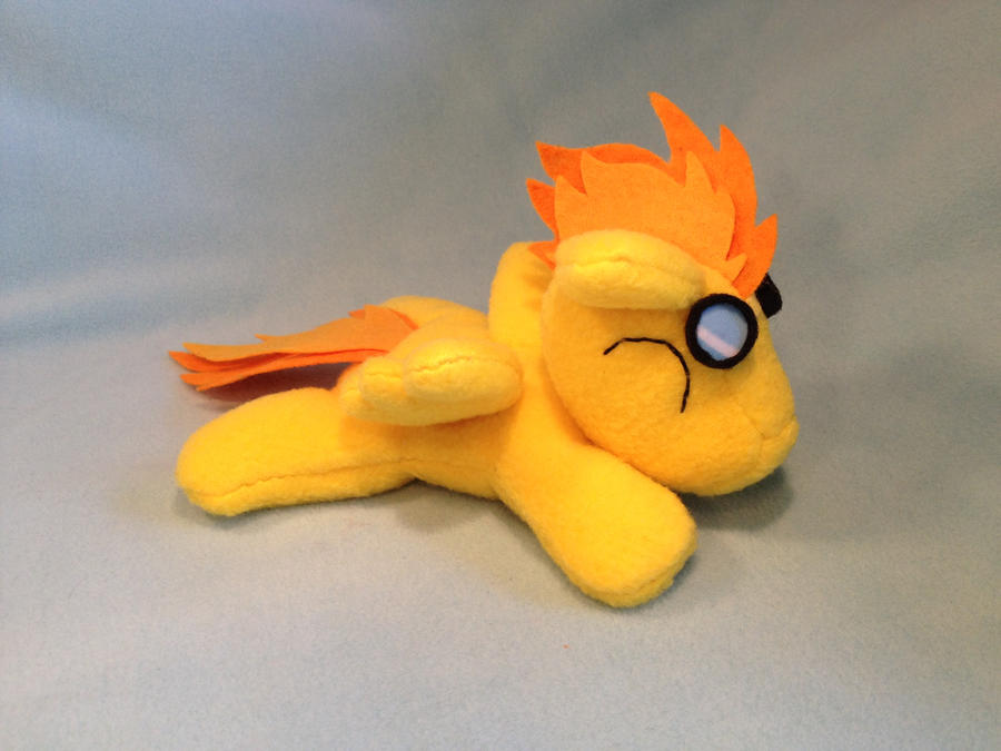 Filly Spitfire beanie plush by Bewareofkitty