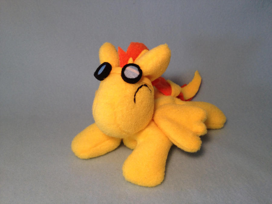Spitfire beanie plush by Bewareofkitty