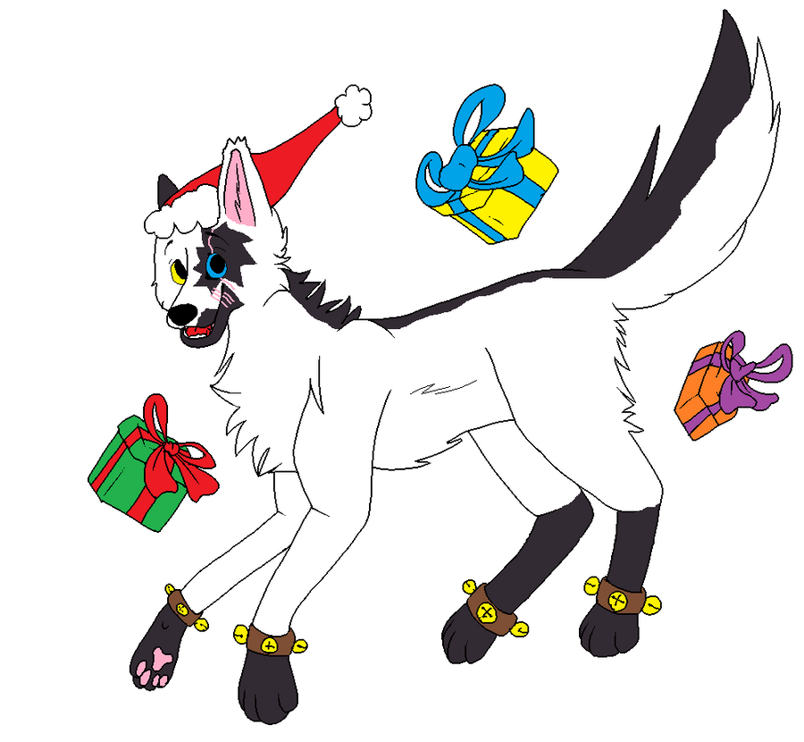 Happy Holidays by FangAlphaWolf