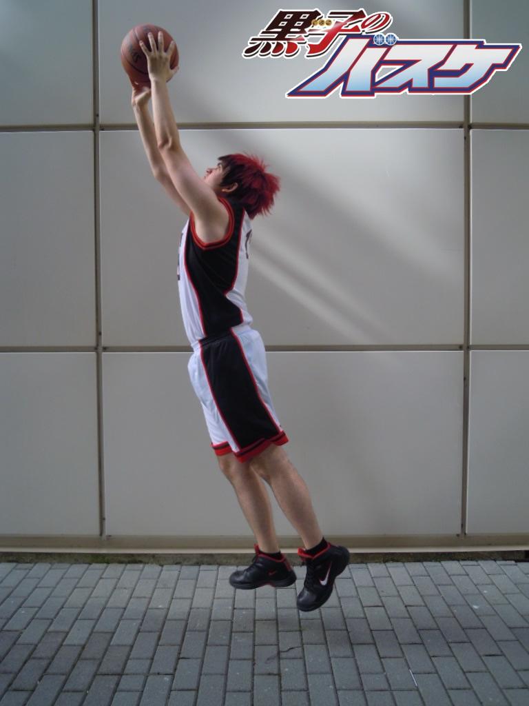 Kagami Taiga performing slam dunk by DaniUzumaki on deviantART