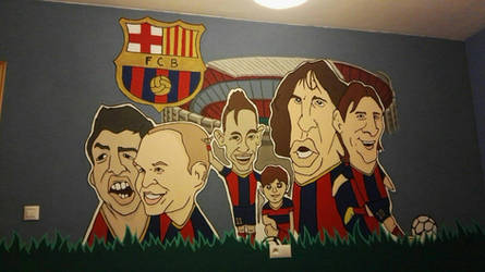 Wall Painted by Gonsart
