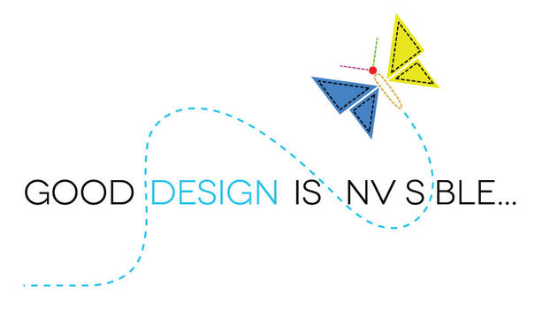 Good design in invisible