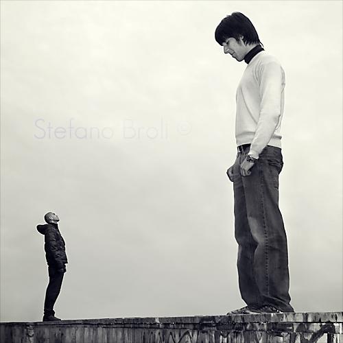 David and Goliath by stefanobroli