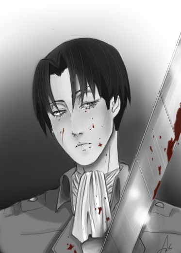 Levi Attack on Titan by IclaimThisname
