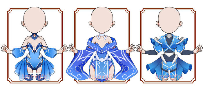 OUTFIT ADOPT 05-AUCTION *DEEP IN BLUE* (OPEN)