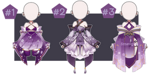 OUTFIT ADOPT 19 (VIOLACIOUS 2) - AUCTION (CLOSED)