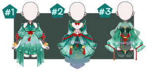 OUTFIT ADOPT 21 (ORIENTAL GREEN)-AUCTION(OPEN)