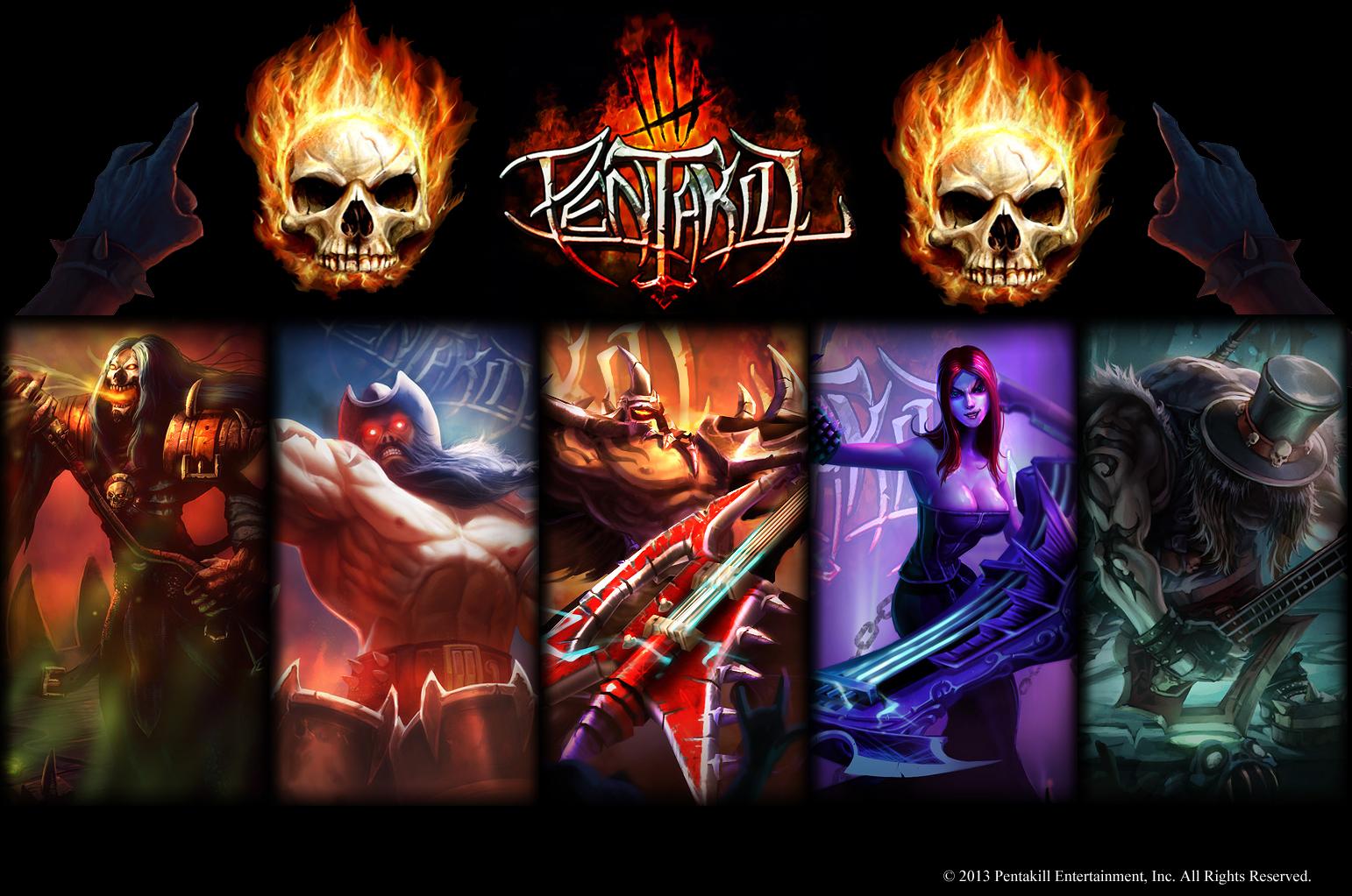Pentakill Band League of Legends Pent...