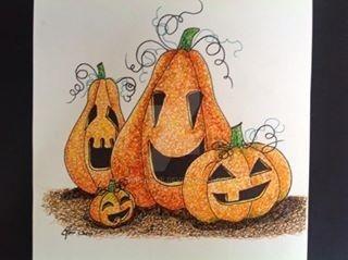Cute Pumpkins by chriskilue