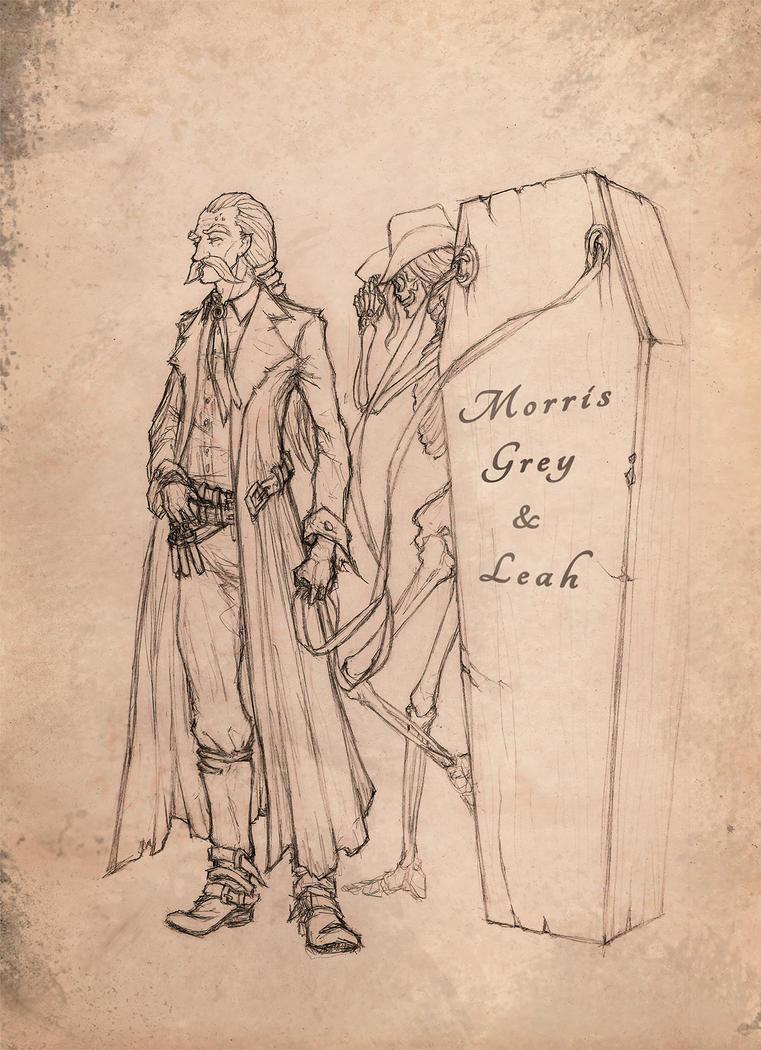 Morris Grey e Leah by Raakhuga