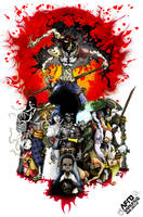 Afro samurai by HDK