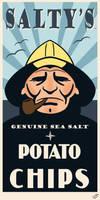 Salty's Potato Chips