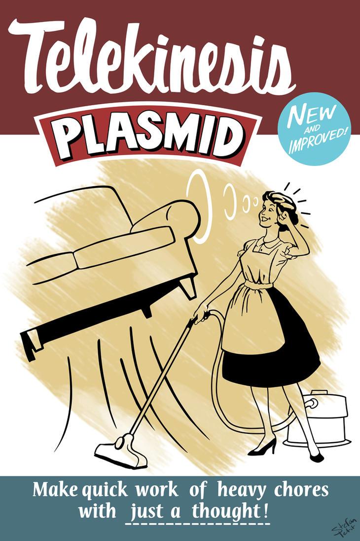 Telekinesis Plasmid by Spetit05