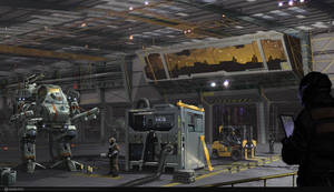 Mech Hangar