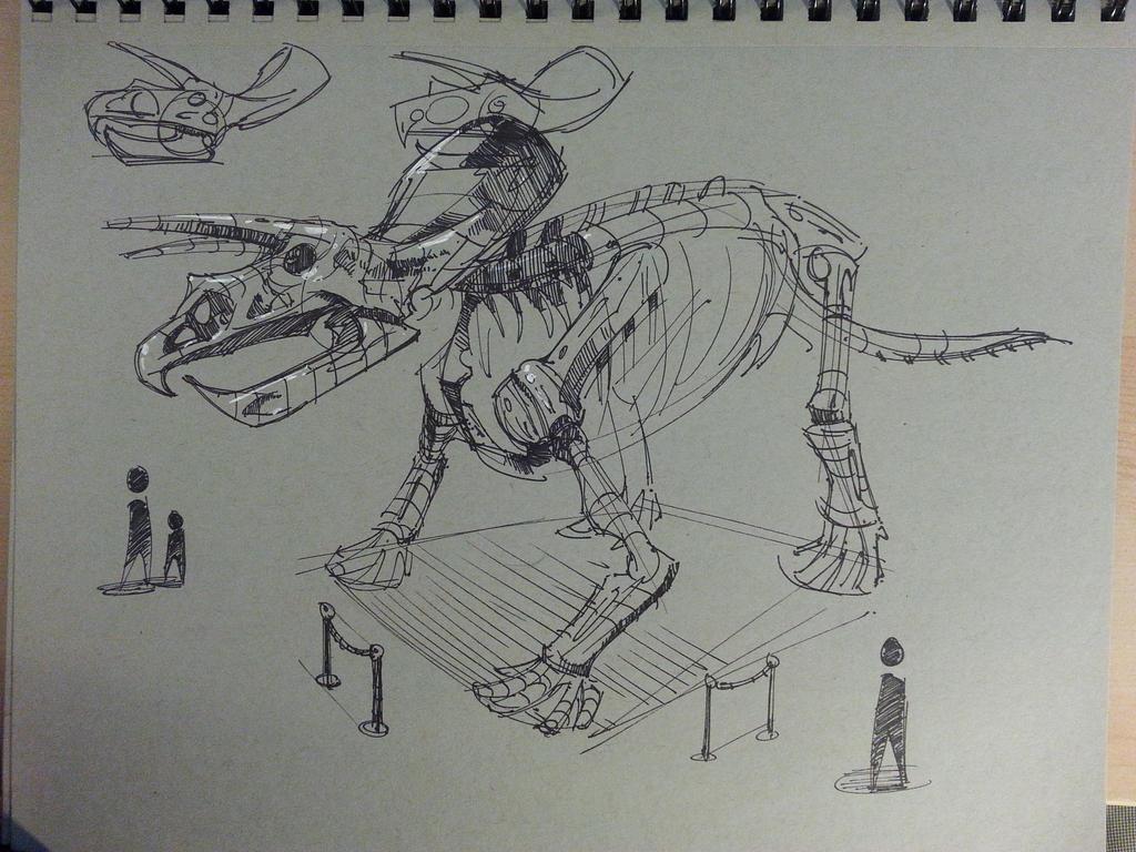 Dino Exibit by Spetit05