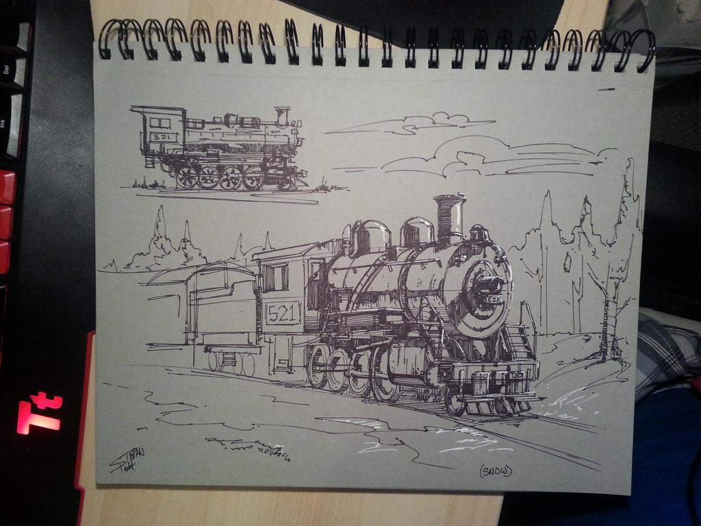Snow Train by Spetit05