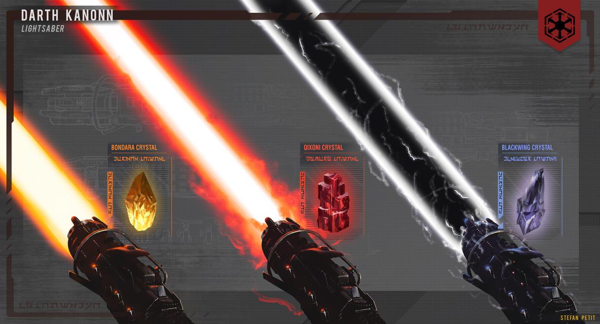 Sith Lightsaber Blade Variety By Spetit05 On Deviantart
