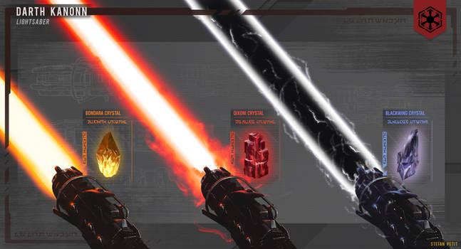Sith Lightsaber - Blade Variety