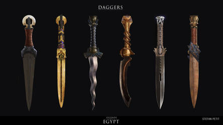 Egyptian Daggers