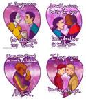 Deep Space Valentines
