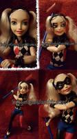 Repaint: Super Hero Girls Harley Quinn