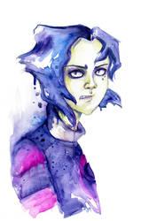 hideous new girl by ladyyatexel