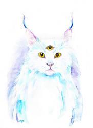 space cat by ladyyatexel