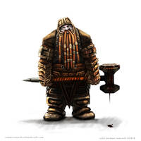 Battle dwarf by Colin-Ashcroft