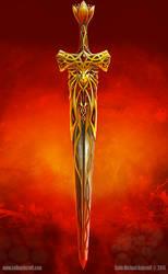 King Arthur's sword by Colin-Ashcroft