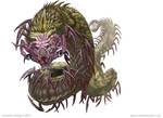 Giant Centipede creature.