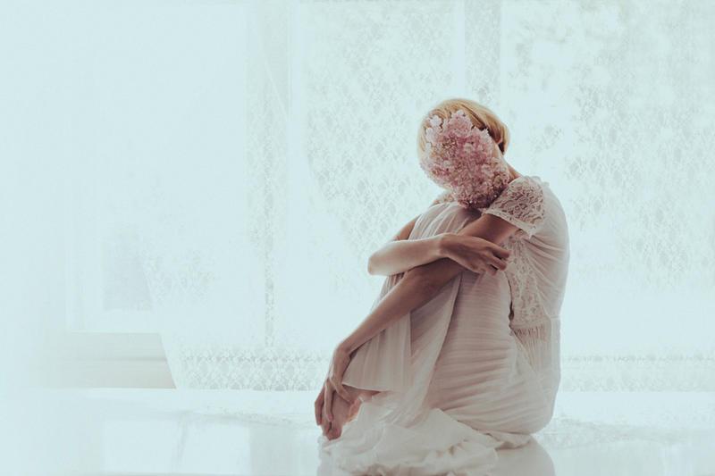 hydrangea mask by Rinksy
