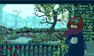 Pixel Art Landscape Girl by Darklook64