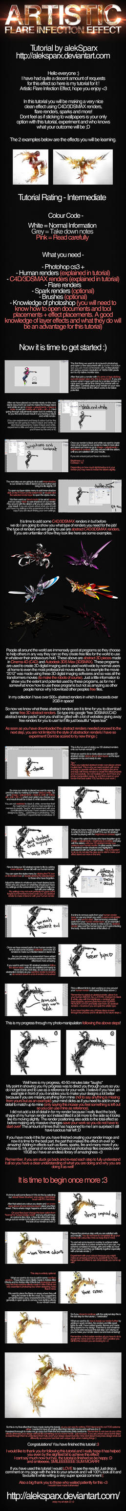 Artistic Flare Infection Effect Tutorial by alekSparx
