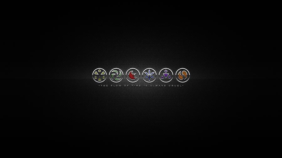 Ocarina of Time - Seven Sages Medallion Wallpaper by alekSparx