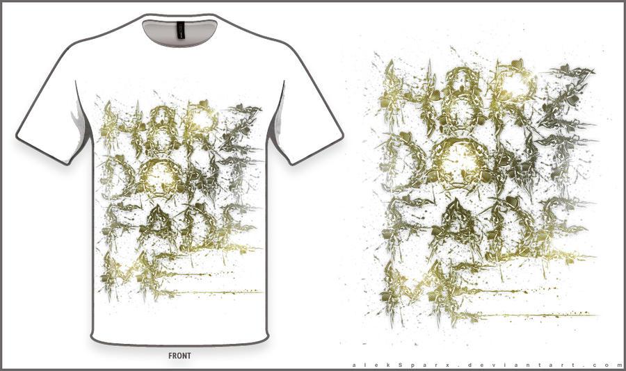 H8RZ DONT FADE ME (v3) T-Shirt Design by alekSparx