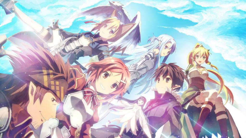 Sword Art Online Wallpaper By AlekSparx