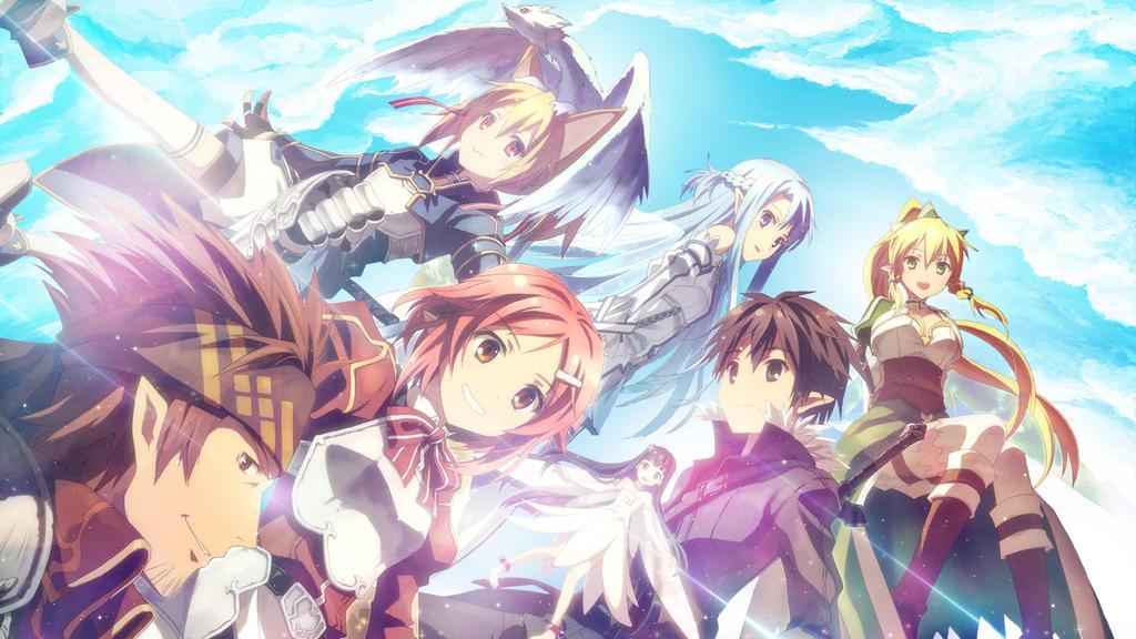 Sword Art Online Wallpaper by alekSparx