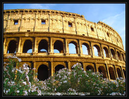 FLOWERS IN ROME by mariyanamarinova