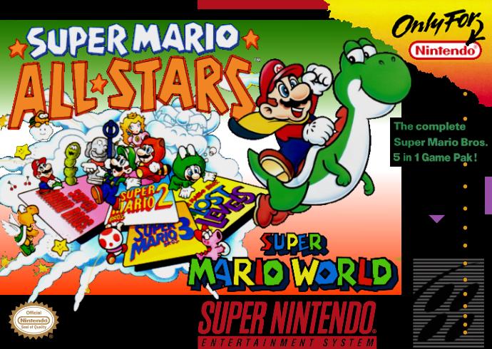 Image result for Super Mario All-Stars + Super Mario World